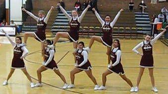 Youth Cheerleading Pyramids | Easy Cheer Stunts