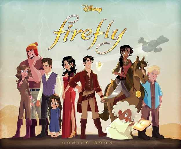 "This Awesome Disney Version Of ""Firefly"" Needs To Be A Real Thing."