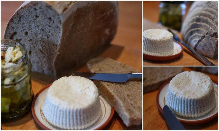 U nás na kopečku: ...výroba domácího měkkého sýra....