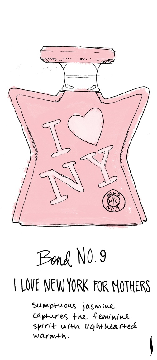 Bond No. 9 I Love New York for Mothers #sephora #fragrance #topnotes