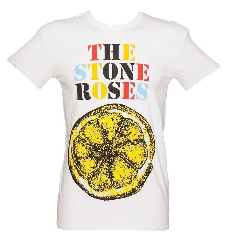 Men's The Stone Roses Lemon Multi T-Shirt