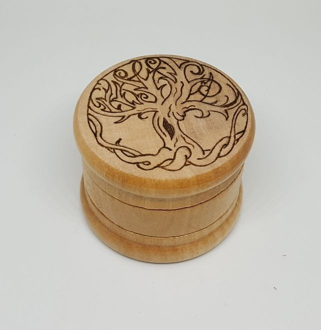 Tree of life herb grinder £14.50