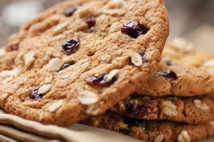 Biscuit moelleux et délicieux à l'avoine et aux raisins