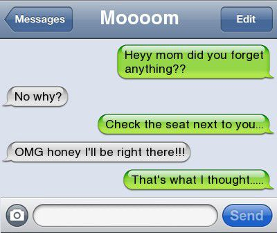 Moms are awesome: 10 Funny Text Conversations with Mom