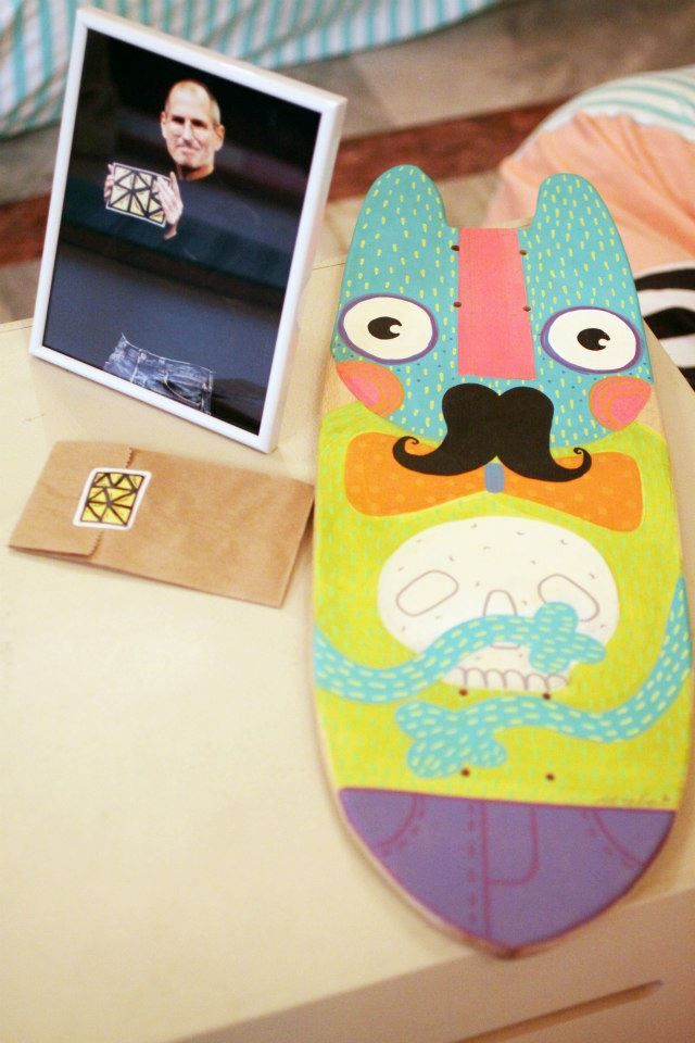 Hip mini-cruiser deck, designed by Serebe