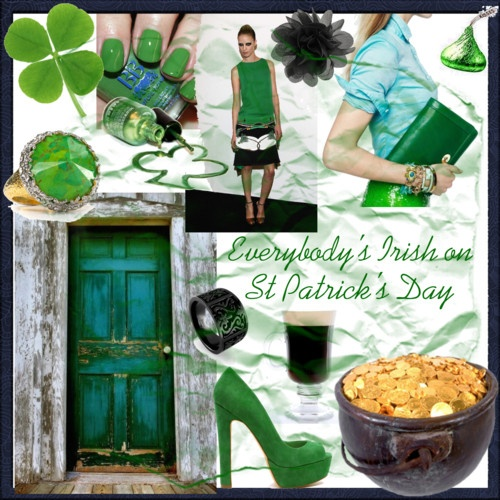 Everybody's Irish!  Erin Go Braugh! Happy St Patrick's Day to all.