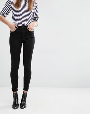 Levis high waisted ankle jeans