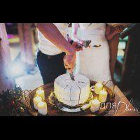 свадьба в стиле бохо во французских Альпах, свадебный торт