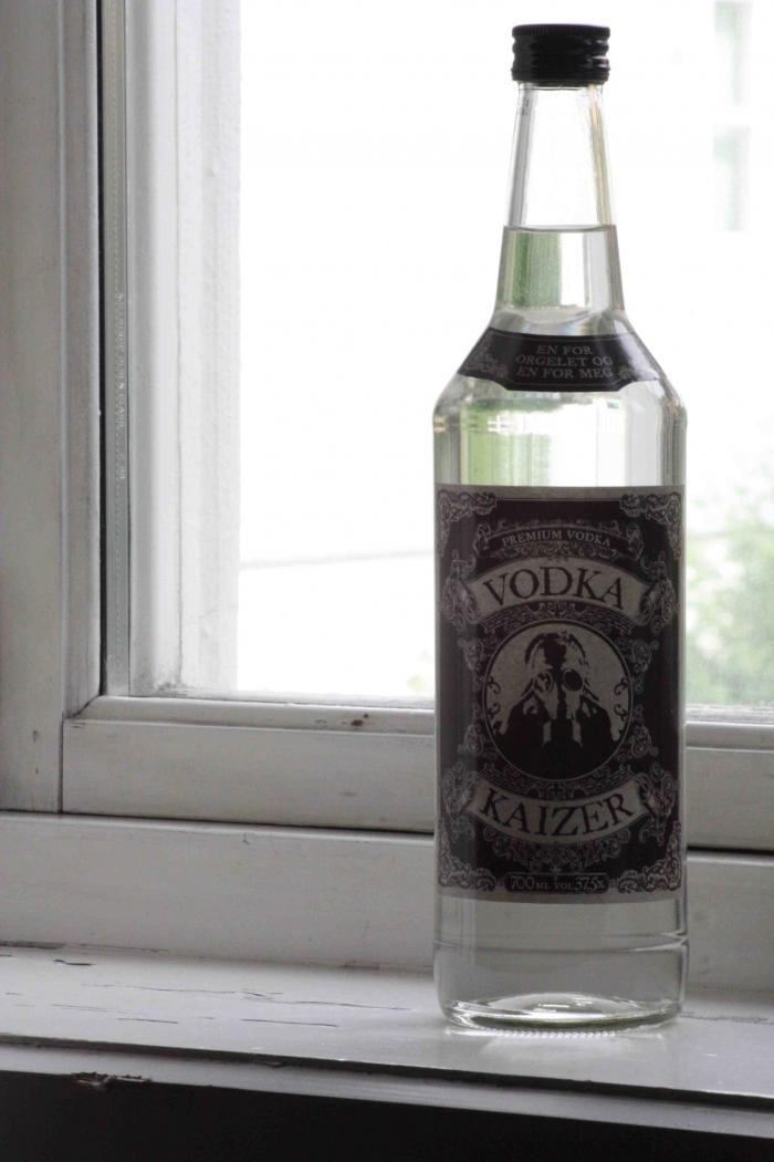 This Kaizers Orchestra vodka is a must have! Even though I don't drink vodka..