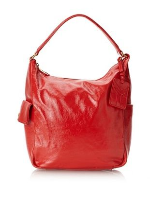 Yves Saint Laurent Women's Patent Leather Tote, Red