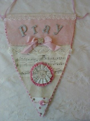 Pink PRAY banner by littlethings1, via Flickr