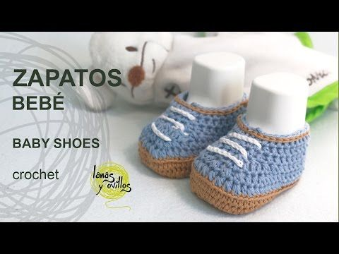 tutorial zapatos beb crochet youtube