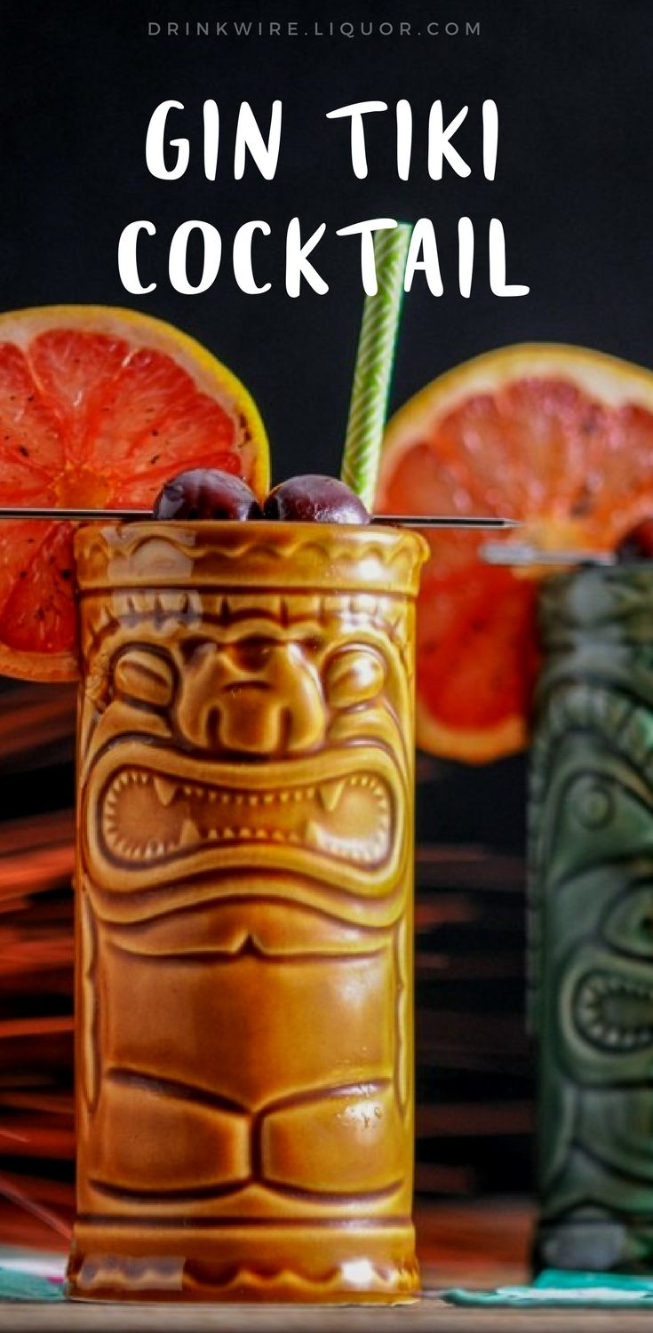 You'll love this gin #tiki #drink