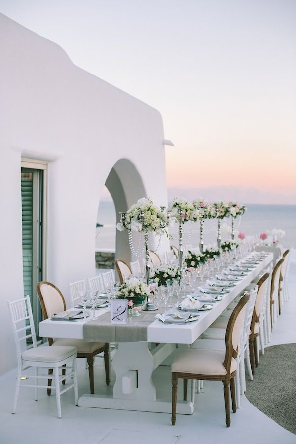 Wedding in Mykonos Island, Greece #destinationwedding #eventrentals