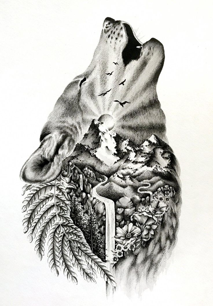 Wild   – Cool sleeve tattoos