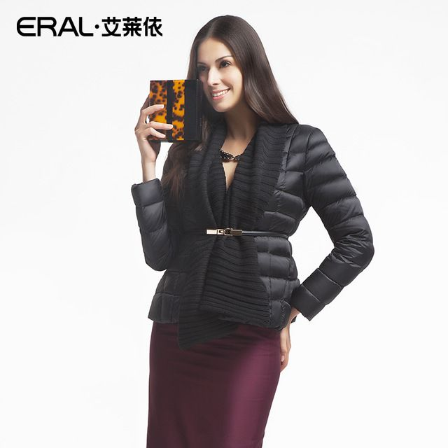 ERAL 2015 Winter Women's Luxury Knitted Patchwork Thermal Slim Short Down Jacket Female Coat ERAL2037D US $91.29 /piece    CLICK LINK TO BUY THE PRODUCT  http://goo.gl/oYWEYs