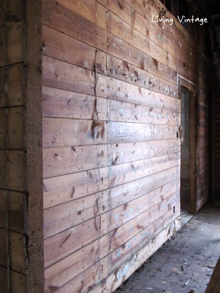 beautiful antique shiplap walls – Living Vintage