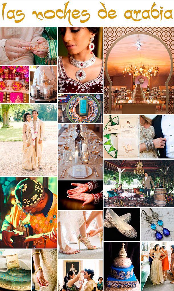 Tu boda estilo medio oriente. Inspiración en las Mil y una Noches para tu casamiento.:
