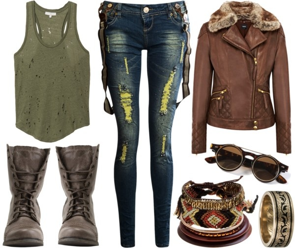 """""""Who you calling scruffy looking?"""" by leslie-harrison on Polyvore"""