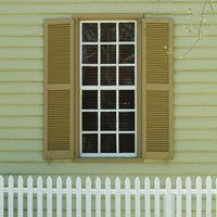 Most people choose aluminum shutters for their durability, price and because the paint on them will not fade, nor will it chip or become cracked. If you are changing the exterior color of your home and do not wish to purchase new coordinating shutters, it is possible to paint your existing aluminum shutters in order to keep a few bucks in your...