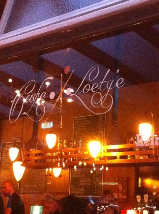 Café Loetje in Amsterdam, Noord-Holland