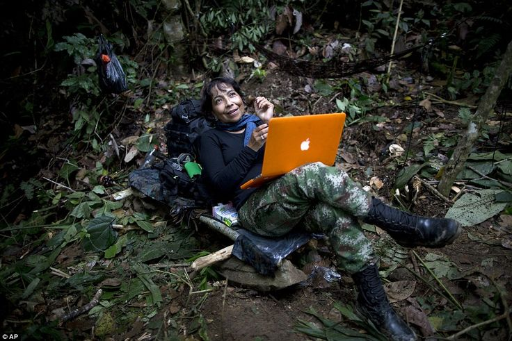 YiraCastro, a kind of mentor to other women rebels, has spent much of the last three years with the talks in Havana, and her relative worldliness shows in her Cuban-inflected Spanish and new orange laptop