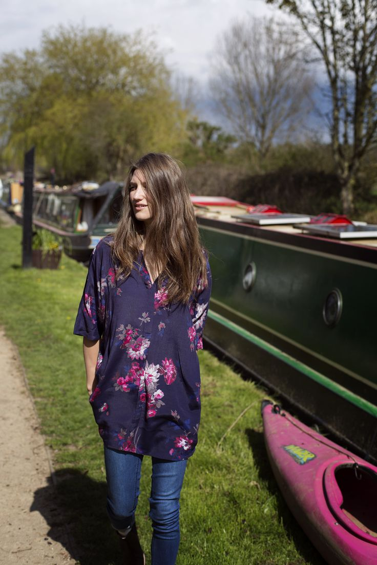 JOULES CARYS PRINTED TUNIC  Meander through our new collection'