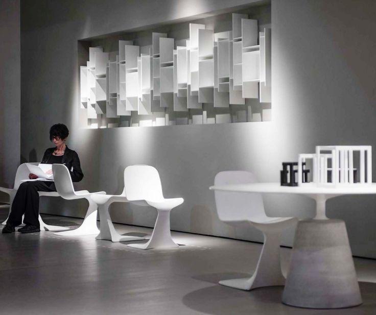 Lust Chair Randomito bookshelf Rock Table