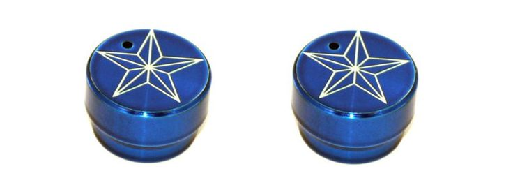 All Sales Head Light Knob (1 Knob) - Star Blue - Cap off your truck's interior in style with our huge collection of heater/ac knobs, radio dials, levers and locks. Quick and easy to install…just pull off and push on!Fits: Chevy/GMC 99-07CBS Silverado/Sier
