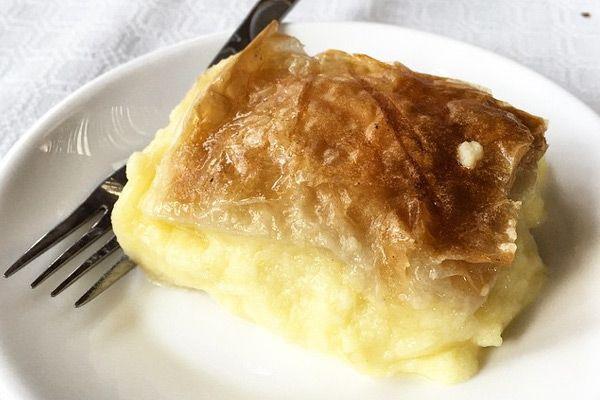 Συνταγή Τρεμουλιαστό γαλακτομπούρεκο | mamapeinao.gr | ΜΑΜΑ ΠΕΙΝΑΩ