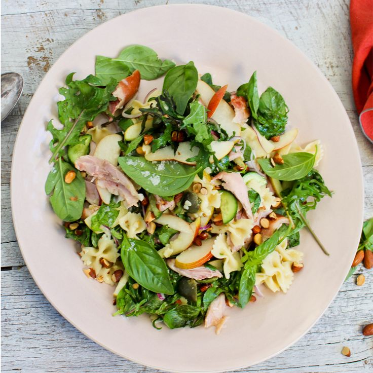 Find out how to make this simple Pasta Salad with Chicken & Pear. #Woolworths #Recipe #Pasta #Chicken #Pears #Pastasalad #Whatsfordinnerhttps://www2.woolworthsonline.com.au/Shop/Recipe/3612