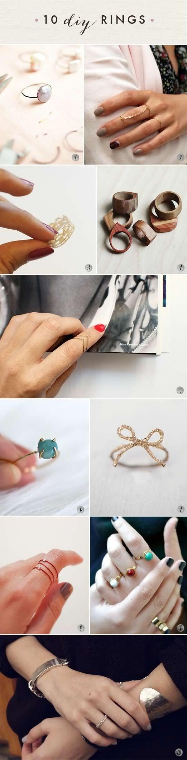 DIY Lovely Rings!