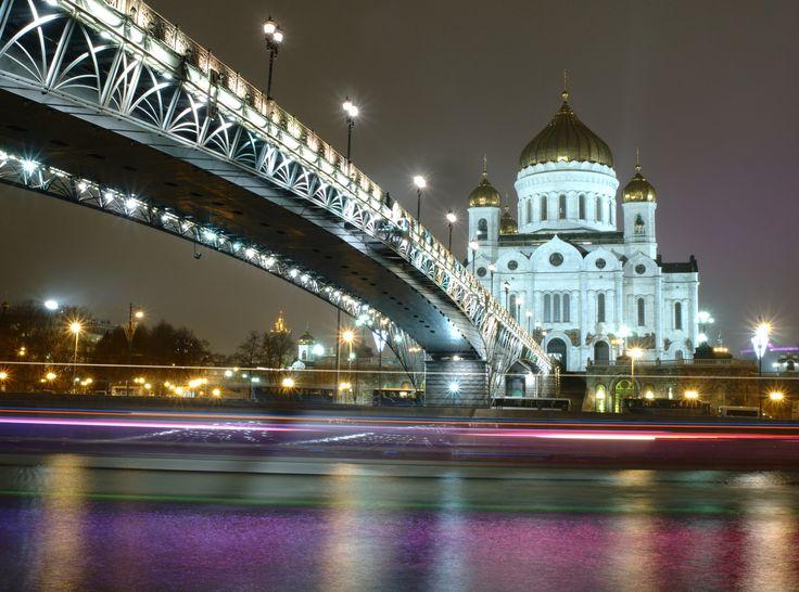 Night rainbow under the bridge by Alexander Polomodov on 500px