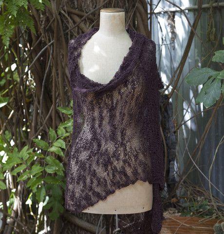 Dream Time Shawl 100% cotton  #knitting