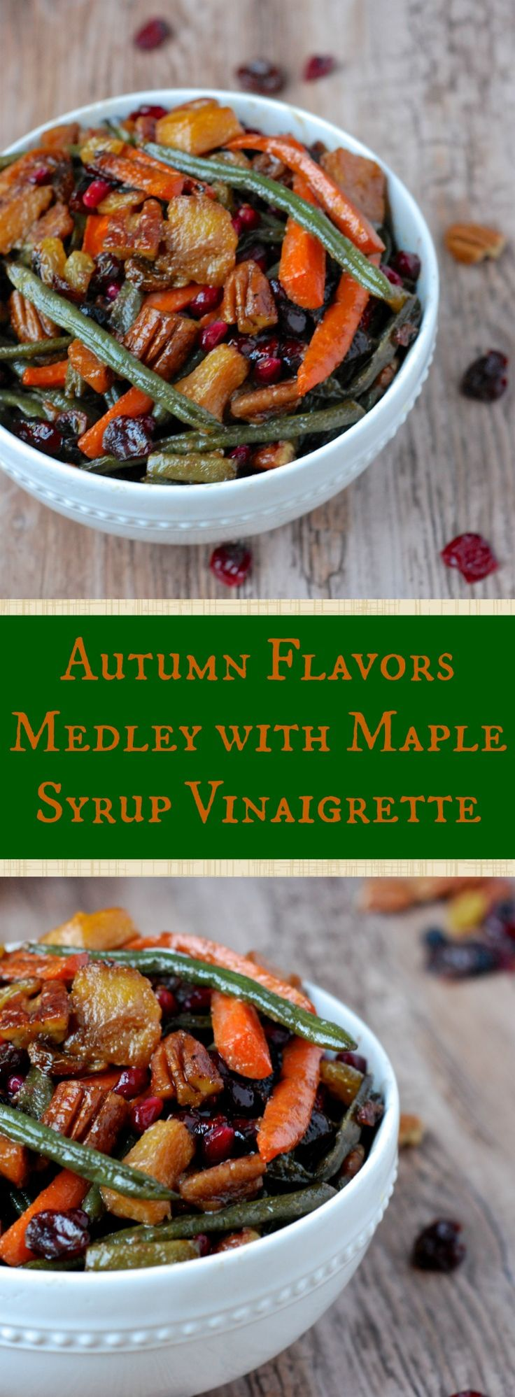 I absolutely love all the flavors autumn has to offer! Try out this amazing medley of flavors just in time for the cool weather.