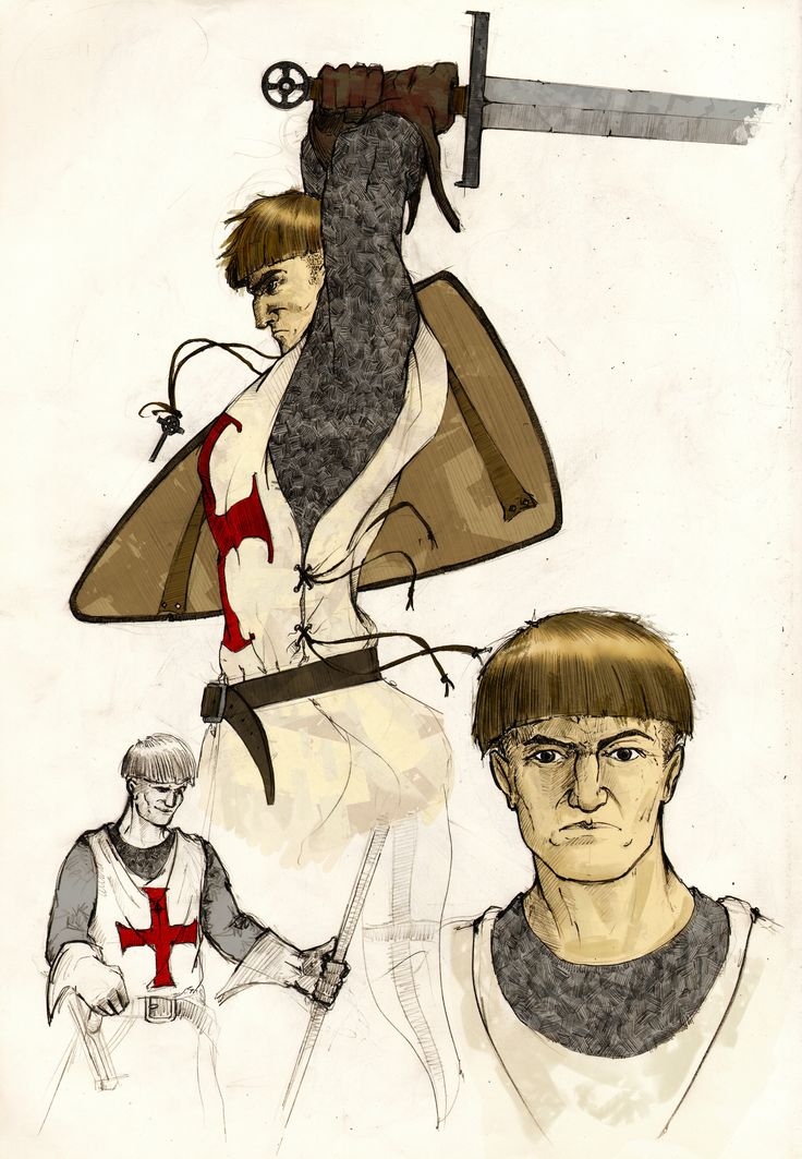 Templar Knight by Lapo Roccella on ArtStation.