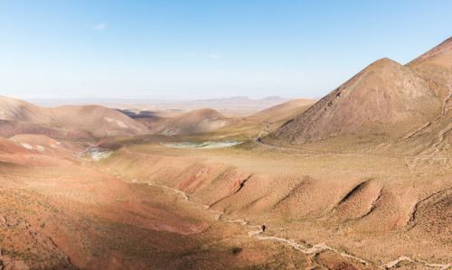 Wikipedia picture of the day on July 9 2017: Typical landscape...  Wikipedia picture of the day on July 9 2017: Typical landscape of the Atacama Desert the most arid place in the world precisely 50 kilometres (31mi) northeast of Calama Chile.Learn more.  http://tumblr.larisia.com/post/162763464096