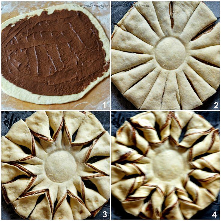 gwiazda z nutellą ciasto francuskie - Google Search