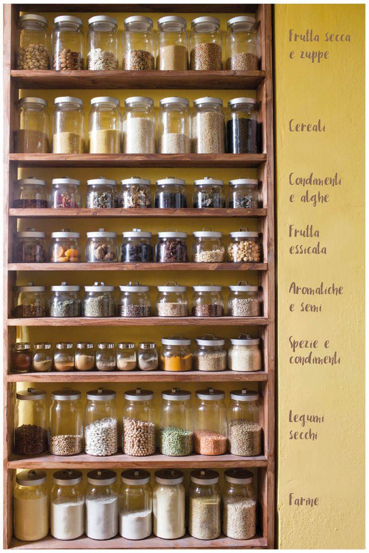 Molto Oltre 25 fantastiche idee su Dispensa cucina su Pinterest | Stile  IC55