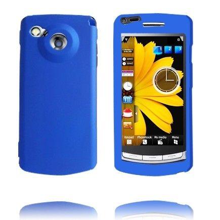 Hard Shell Snap-On (Blå) Samsung i8910 Omnia HD Deksel