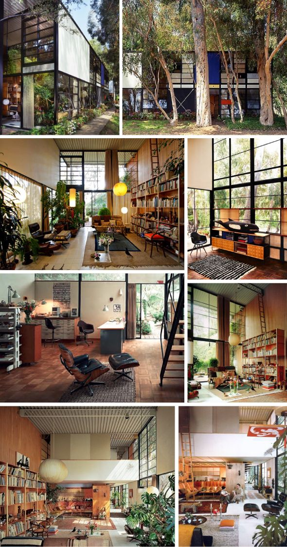 HOMESTORMING: CELEBRITY HOMES - Ray & Charles Eames