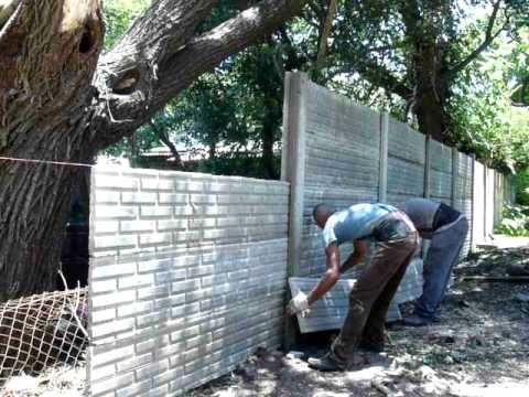 Blokes de pared para cercos