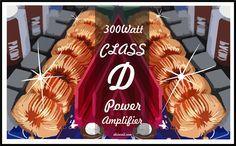 300W Class D Power Amplifier Circuit