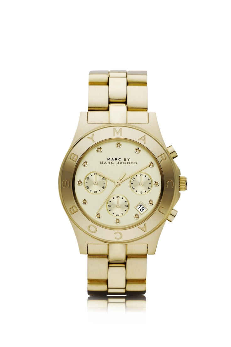 Marc by Marc Jacobs Blade in Gold - MBM3101 - Marc By Marc Jacobs - Watches