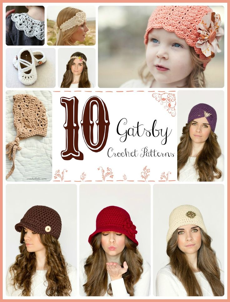 209 best hats images on Pinterest | Hat crochet, Crochet patterns ...