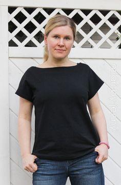 lillesol & pelle Schnittmuster/ Pattern: Sommershirt / Shirt