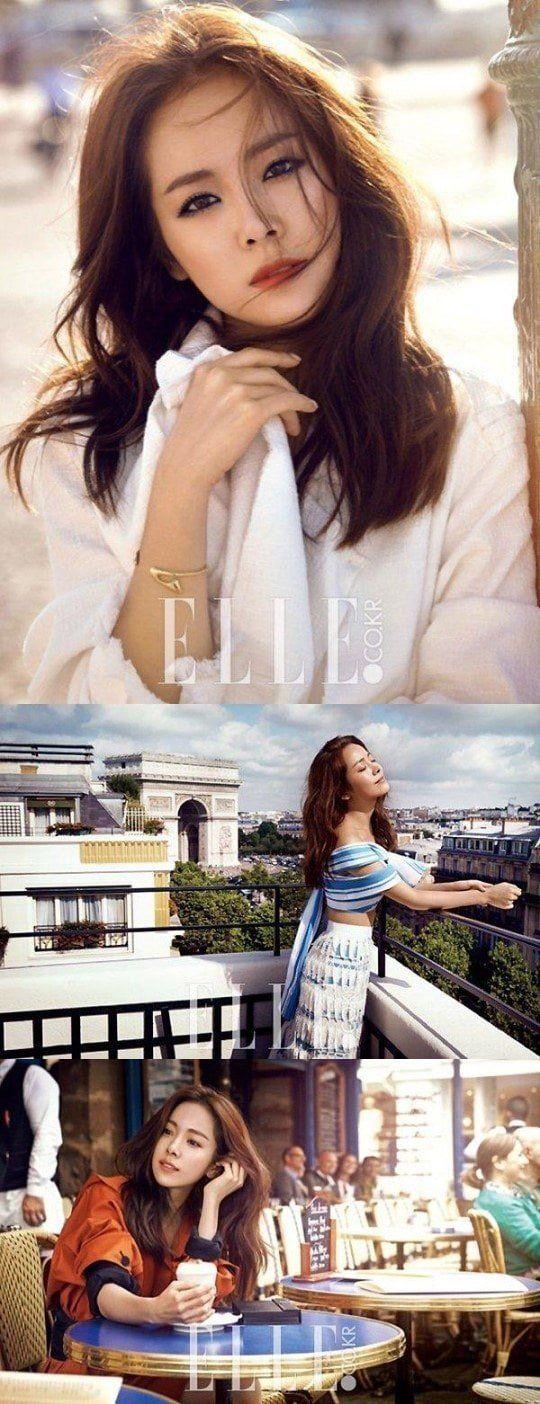 Han Ji Min for ELLE