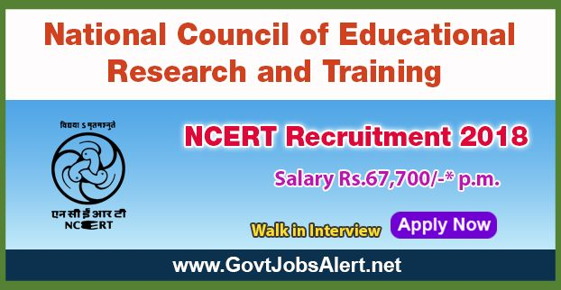 Ncert Recruitment   Walk In Interview For Editor And Proof