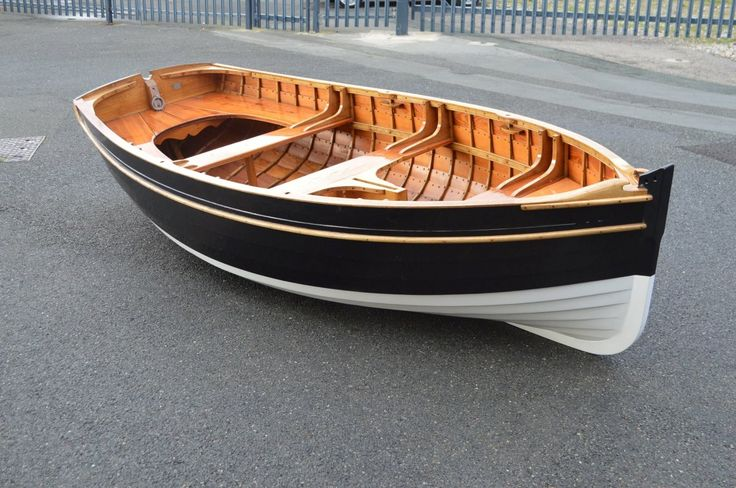 Traditional Wooden Rowing Boat. Looks like my first boat