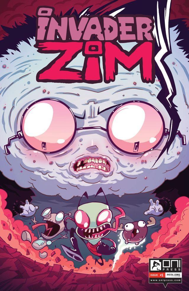 Invader Zim #1 #OniPress #InvaderZim Release Date: 7/8/2015